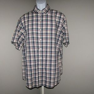 Polo Ralph Lauren Size XL Plaid Shirt Blue Red